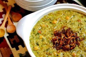 آش سبزی ( شیراز )