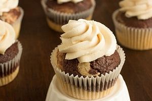 کاپ کیک قهوه و شکلات