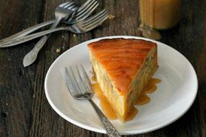کیک موز و دارچین