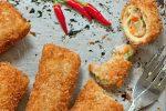 اسپرینگ رول مرغ و سبزیجات