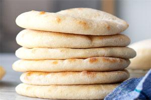 نان پیتا خانگی