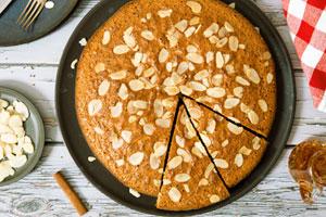 کیک عسل و دارچین