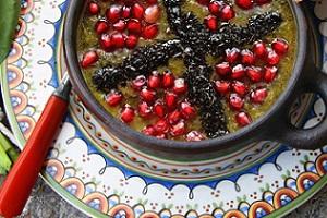 آش انار ( بدون گوشت )