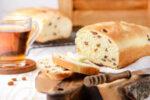 نان شیرمال کشمشی