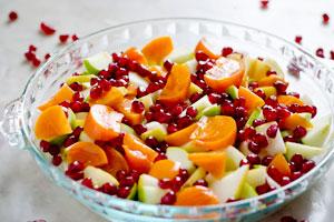 سالاد میوه پاییزی
