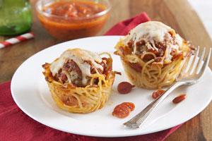 اسپاگتی آشیانه ای