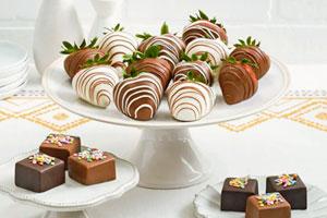 میوه آرایی با شکلات – 6