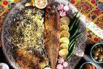 مدل تزیین سبزی پلو ماهی – 1