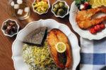 مدل تزیین سبزی پلو ماهی – 2