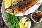 مدل تزیین سبزی پلو ماهی – 3