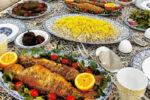 مدل تزیین سبزی پلو ماهی – 4