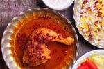 زرشک پلو با مرغ رستورانی